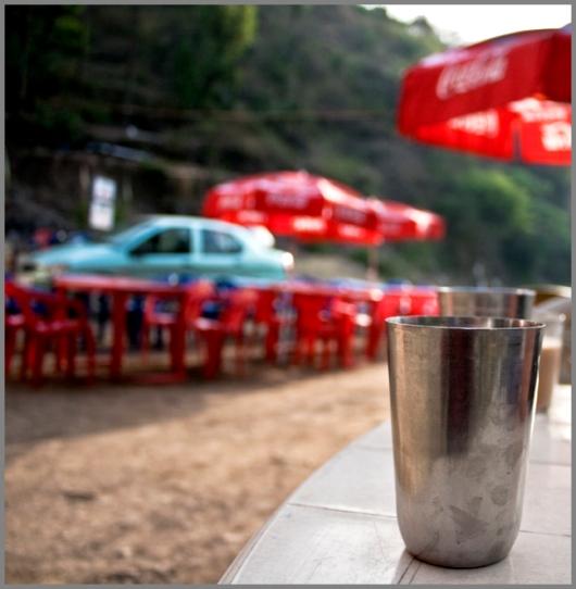 Tea break near Shimla