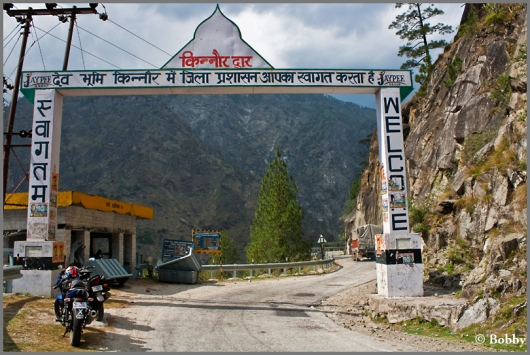 Kinnaur Dwar - the entrance to the Kinnaur valley