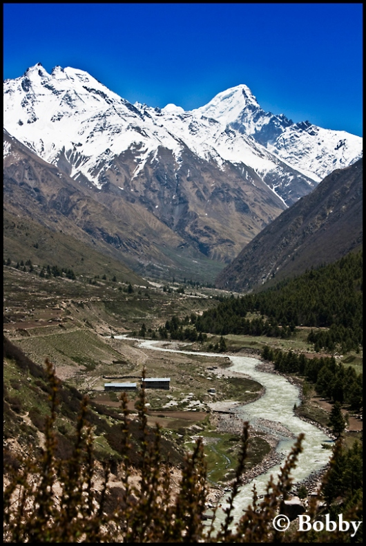 Chitkul - the last Indian village on the India-Tibet border.