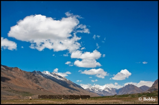 Kaza, Spiti Valley.
