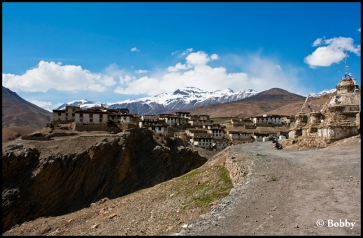 Kibber Village - at 14,025 feet above Mean Sea Level (MSL).