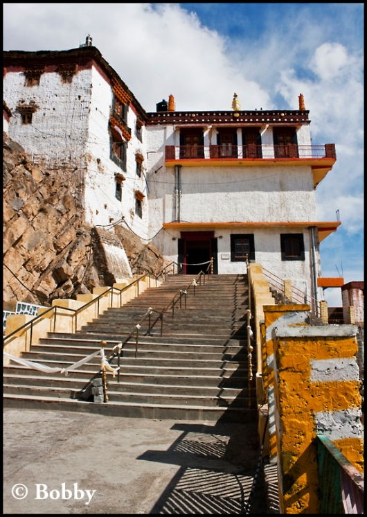 Ki Gompa Entrance.