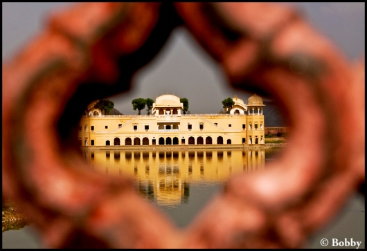 Through the frame - Jal Mahal