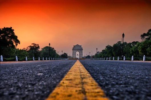 India Gate at dawn