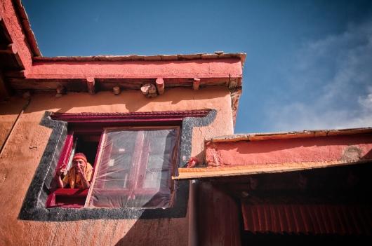 The Happy Monk - at Lamayuru Monastery, Ladakh